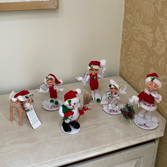 NWT Lot of Annalee Christmas. NEVER USED.